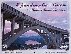Plumas Bank Calendar Cover
