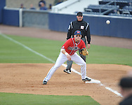 Ole Miss' Matt Snyder (33) vs. Houston at Oxford-University Stadium in Oxford, Miss. on Sunday, March 11, 2012. Ole Miss won 11-3 to sweep the three-game series.