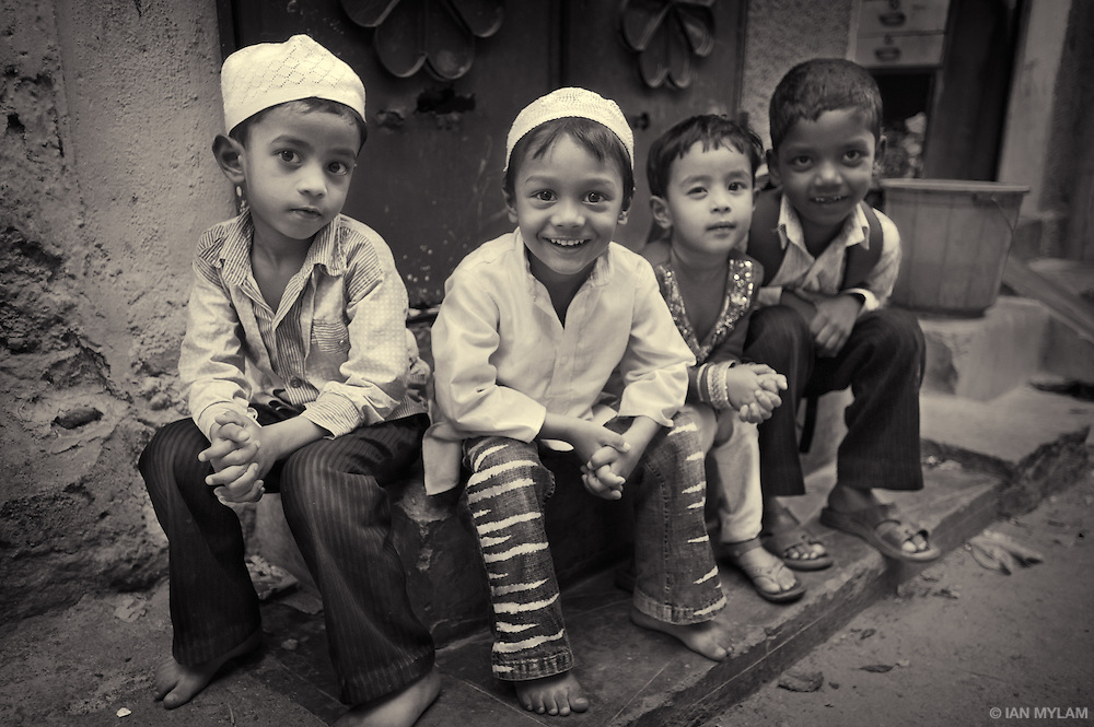 Four Young Boys - Bangalore, India
