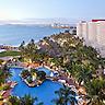 Overview, looking towards Nuevo Vallarta at the Sheraton Buganvilias Resort in Puerto Vallarta, Jalisco, Mexico