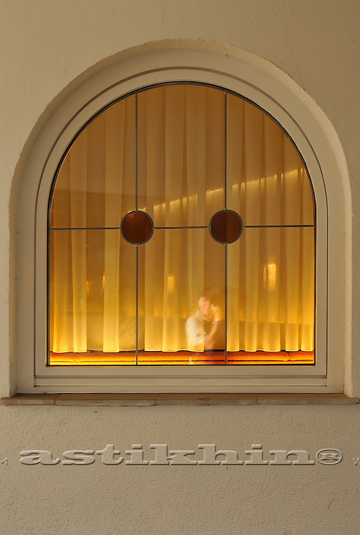 Window of Hotel Munde