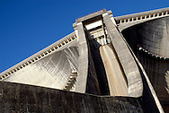 Agueira dam ? a reversible dam in Mondego river, allows for pumping the water up, using night-produced electrical energy, mainly from wind farms, thus reducing the waste of energy.