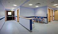 waiting room at hospital, no people