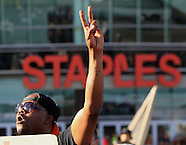 Protest against Clippers owner Sterling