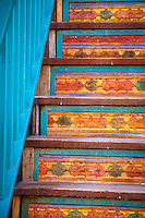 Steps. Santa Fe, New Mexico.