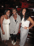 l to r: Cheryl Talley, Brea Stinson and Michelle Murray at The Alize Liquer Concrete + Cashmere Career Polishing Pack Luncheon held at The Blue Fin on August 19, 2009 in New York City..Life is more colorful when you mix it up so Alizé is bringing you the hip, edgy reality series Concrete + Cashmere. This show chronicles the lives of 6 adventurous,aspiring fashion professionals as they compete for $10,000 and mentoring from some of the brightest luminaries in the business through our Career Polishing Package...
