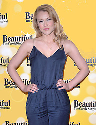 Camilla Kerslake attends Beautiful - The Carole King Musical at The Aldwych Theatre, The Aldwych, London on Tuesday 24 February 2015 February 2015