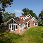Residential home exterior in Cheshire