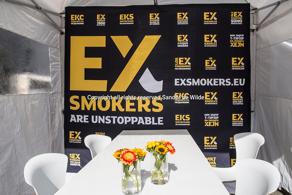 20130926 Ex smokers are unstoppable event in Brussels organized by the European Commission with Bob Sinclar