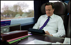 Cameron using his Ipad