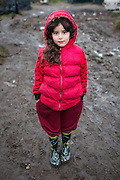 A girl from Syria.