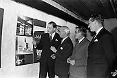 """1963 - Opening of """"Ulster Today"""" architectural photographic exhibition"""