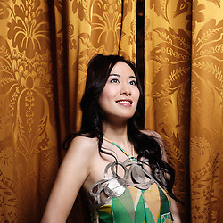 "Honk Kong's actress Michelle Ye at the 62th Cannes Film Festival for Johnnie To's movie, ""Vengeance"". Hotel Majestic. France. 17 May 2009. Photo: Antoine Doyen"