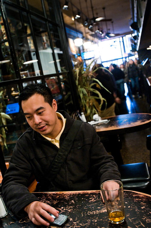 Investment banker Kai Wang lost his job during the financial crisis...Photographer: Chris Maluszynski /MOMENT