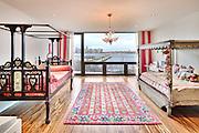 "The Manhattan townhouse of Bob and Courtney Novogratz, stars of the Bravo reality television series ""9 by Design."""