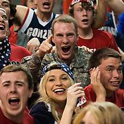 Students cheer on Gonzaga. (Photo by Gonzaga University)