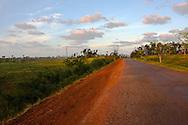 The road east of La Palma, Pinar del Rio, Cuba.