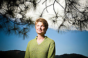 """Janine Benyus, Biologist, and author of """"Biomimicry: Innovation Inspired by Nature"""".  Photographed in San Rafael, CA for Fortune Magazine."""