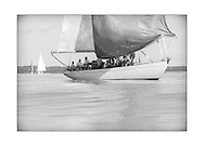 140714_ISON_Panerai_Classics<br /> David Murrin's sloop, Cetewayo, at the Panerai British Classic Week sailing regatta off Cowes, Isle of Wight. <br /> Picture date Monday 14th July, 2014.<br /> Picture by Christopher Ison. Contact +447544 044177 chris@christopherison.com