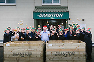 Branston Potatoes, Abernethy, Scotland in full production for Christmas orders