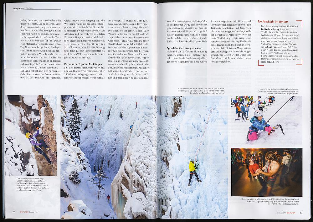 Die Alpen: Ein Dorf steht kopf (January 2017)
