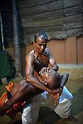 Angam Pora practice with Guru Karunapala, great master of this ancient Sri Lankan Martial Art who teaches at his school in Mirihana suburb, Colombo, Sri Lanka.