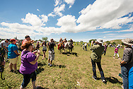 Battle of the Little Bighorn Reenactment,<br />