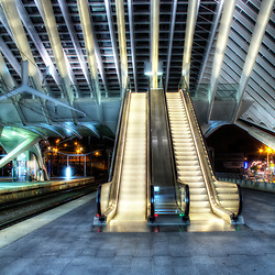 Liege-Guillemins Railway Station