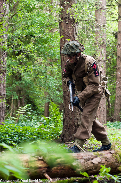 Northern World War Two Association Private Battle.<br /> 14  May 2011<br /> Images &copy; Paul David Drabble