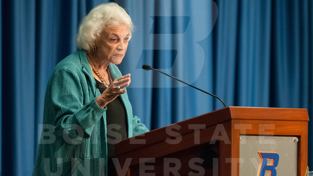Transforming America,  Women and Leadership in the 21st Century, Andrus Center for Public Policy, Justice Sandra Day O'Connor, Carrie Quinney photo