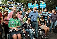 Andrea Matarazzo, José Serra e  Mara Gabrilli participam de evento pela inclusão na Av. Paulista.