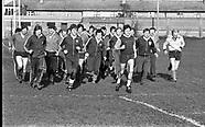 Irish Rugby Squad 1982