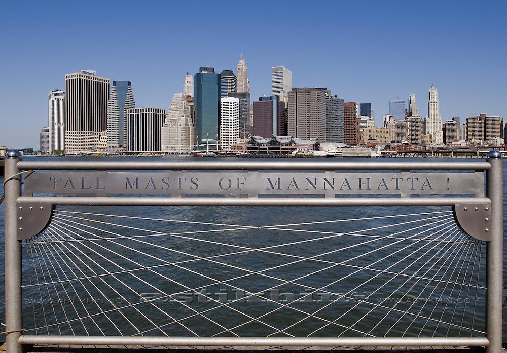 TALL MASTS OF MANNAHATTA!