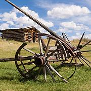 Montana: Nevada City historic frontier buildings, lifestyle