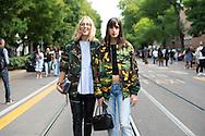 Two Girls at Fendi SS2017