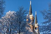 Campus snow. (Photo by Matt Weigand)