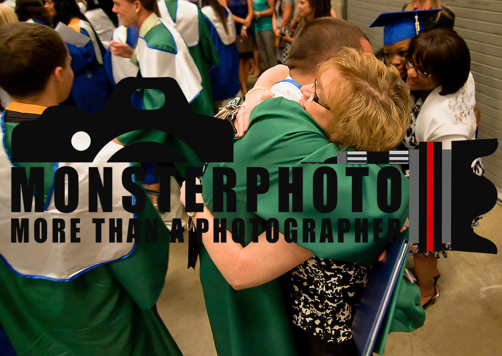 06/07/12 Newark DE: St. Georges Technical High School students celebrate after commencement exercise Thursday, June 7 2012, at The Bob Carpenter Center in Newark Delaware...Special to The News Journal/SAQUAN STIMPSON
