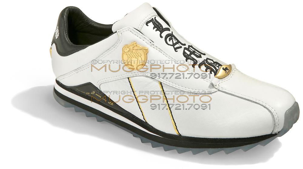 white sneaker by lamb