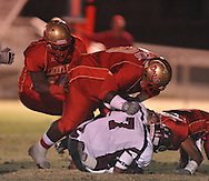 Lafayette High vs. Greenwood High in MHSAA playoff action in Oxford, Miss. on Friday, November 11, 2011. Lafayette High won 53-8.