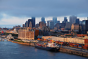 Clouds over downtown, Montreal, Quebec, Canada
