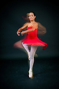 Photograph of Andanza's Ballet Academy student. (2010)
