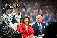 2016/12/07 Duitsland Aken - Deelname aan de opening van het CHIO Aken van koningin Silvia en koning Carl XVI Gustaf van Zweden COPYRIGHT ROBIN UTRECHT 12-7-2016 GERMANY AACHEN - Attendance at the opening of the CHIO Aachen  of Queen Silvia and King Carl XVI Gustaf of Sweden COPYRIGHT ROBIN UTRECHT