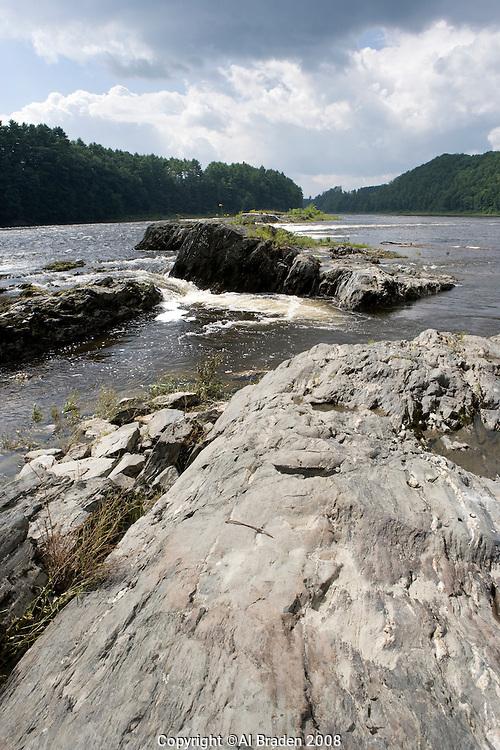 Sumner Falls on the Connecticut River, Hartland, VT