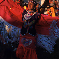 Model release, Crissy Kipp, Blackfeet, North American Indian days, Blackfeet Indian  Reservation, Browning, Montana, USA