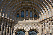 Detail of arch above Cromwell Road entrance