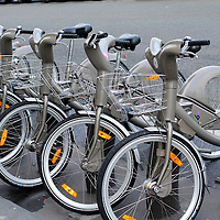 Paris. France., Bike rentals