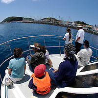 Ecotourism and whale watching cruise&amp;#xD;Horta village, Faial Island&amp;#xD;Azores Islands, Portugal, North Atlantic Ocean &amp;#xD;&copy; KIKE CALVO &amp;#xD;( architecture traditional white )&amp;#xD;<br />