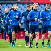 Training Feyenoord voor de Klassieker