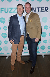 Allen Scriven and Michael Caine attend launch party of Fuzzy Banter a new dating app which keeps users faces blurry untill they choose to reveal themselves to their matches. Held at La Sala, Chigwell Road, Essex on Monday 16 March 2015