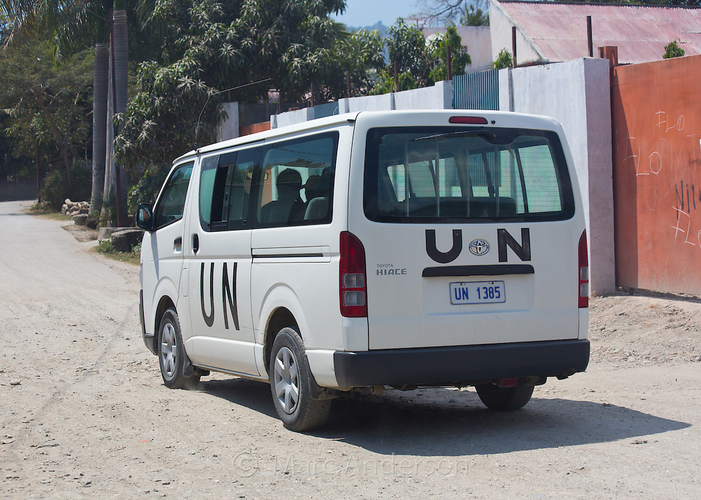 United Nations UN vehicle, Dili, East Timor
